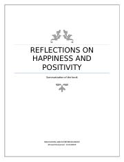 Reflections on happiness and positivity (Group Assignment).docx