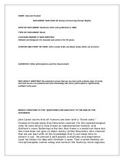 essay concerning human rights.doc