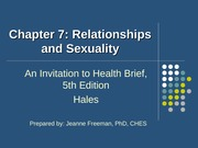 concepts of wellness ch7 relationships and sexuality