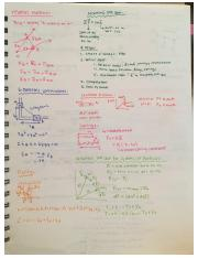 Notes Midterm 2 EMCH 212 part 1