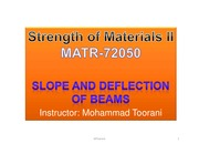 Module 8 - Slope-Deflection-Beams