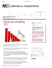 216566528-Oil-Gas-Modeling-101