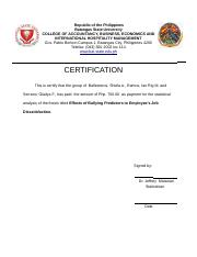 thesis grammarian certificate sample