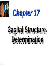 Chapter-17-Capital-Structure-Determination.ppt