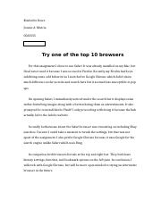 Try one of the top 10 browsers.docx