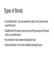 Chapter 9 Types of Bonds.pptx