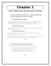 Public Administration and Information Technology.docx