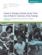 Luppescu Allensworth Moore de la Torre Murphy 2011 Chicago Trends_in_Three_Eras_of_CPS.pdf