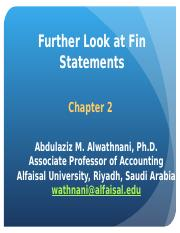 Chapter 2 - Further Look at Fin Statements.ppt