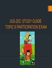 Participation 6 Exam Study Guide.pptx