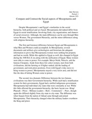 Compare And Contrast The Social Aspects Of Mesopotamia And Egypt  Compare And Contrast The Social Aspects Of Mesopotamia And Egypt   Jakestevens Period Absent Egypt Hierarchy Involvinggodscityo Examples Thesis Statements Essays also Teaching Essay Writing To High School Students  Business Argumentative Essay Topics