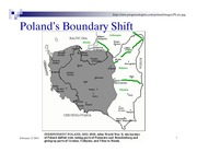Poland's Boundary Shift