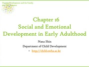 Chapter16. Social and Emotional Development in Early Adulthood (cyber)