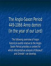 anglo-saxon period pp.ppt