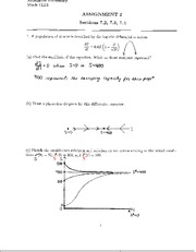 MATH 1LT3 Assignment 2 Solutions