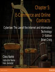 Ch 5 ECommerce and Online Contracts (1) (1)