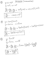 Math 1823 Homework #8 Solutions