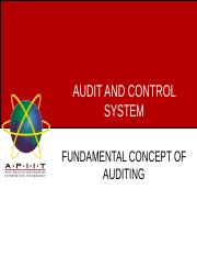 Week 5 - Auditing concepts .ppt
