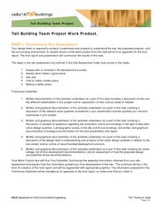 Tall Building Group Project Work Product - Part I Site Assessment
