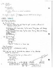 Lecture 2 Notes 1