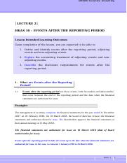 Corporate Accounting-L2-HKAS10-Events After the Reporting Period-Notes.doc