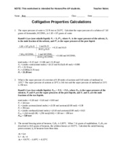 Worksheet - Concentration (Pre-AP) - 3. Determine the mass of NaCl ...