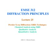 Lecture25-XRD-ChemicalAnalysisUsingXRD