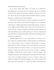 Academic essay writing in the first person