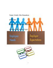 Reflective essay2 Employee Relations task1 Emmie (1) (1).docx