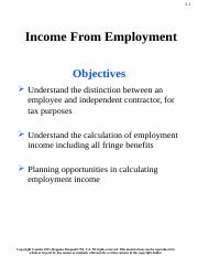 Week 2 Employment Income-ACTG4710.pptx