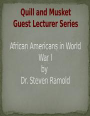 African Americans in World War I.pptx