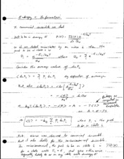 Entropy Differentials Notes