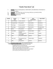 Rock_Classifying_Lab_Procedures_Answer_Key