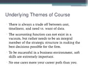 Advanced Cost Management notes for March 42013