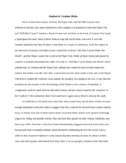 popol vuh analysis essay The popol vuh community note includes chapter-by-chapter summary and analysis, character list, theme list, historical context, author biography and quizzes written by community members like you.