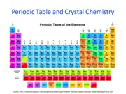 Lectures 4-5 Periodic Table and Crystal Chemistry_LEARN