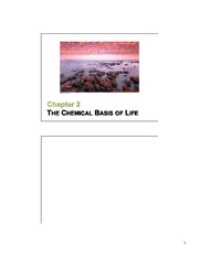 02 Chemistry of Life slides