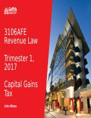 3106AFE Lecture 7 Capital Gains Tax.ppt