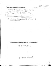 Practice Test 2 with Solutions
