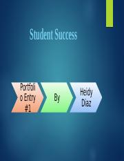 Student Success PF#1.pptx