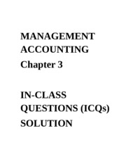 ICQ - Solution Chapter 3(1)