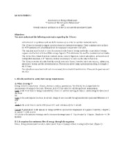 PHAR 2003 EXAM 1 Syllabus Objectives