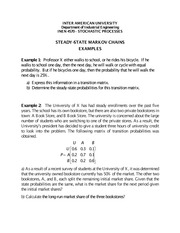 Steady-State Markov Chains_examples