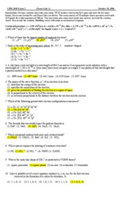 chm2045 exam 2 fall06 key