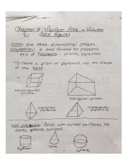 Geometry Chapter 9.1 Notes