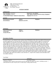 Incident Report_BU264_PM