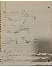 MAT Domain Of The Rational Function Notes