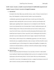 Business Law - Final Project Part I Document.docx