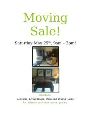 Moving Sale.docx