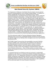 HOST BASED SECURITY SYSTEM (HBSS).doc